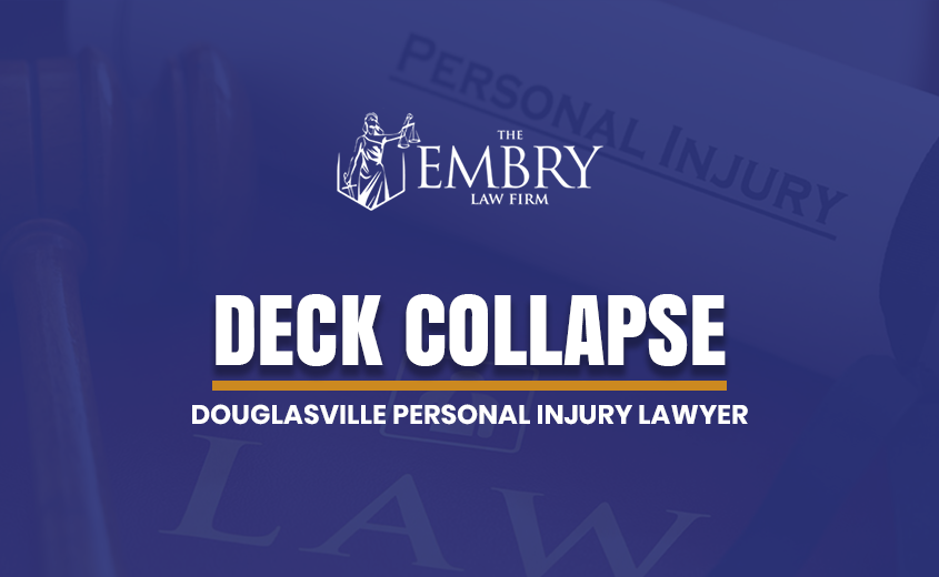 Douglasville Deck Collapse Lawyer