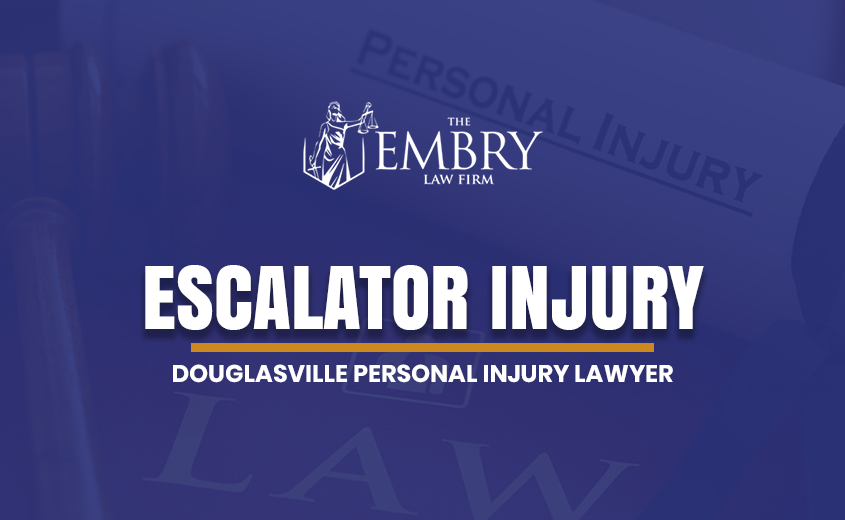 Douglasville Escalator Injury Lawyer